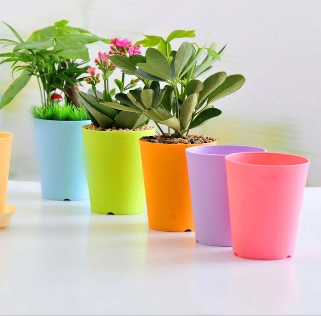گلدان پلاستیکی شهر آذین