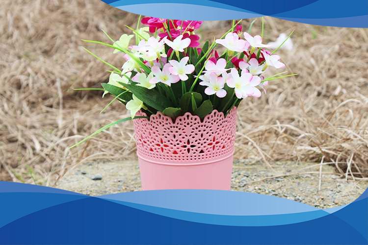 گلدان پلاستیکی سایز 6